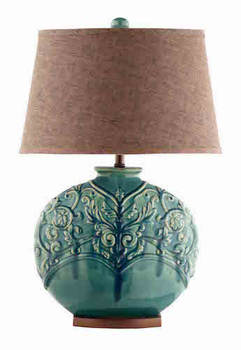 90030 - Rochel Ceramic Table Lamp - Free Shipping! Floor, Desk And Table Lamps - RauFurniture.com