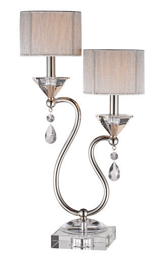 96758 - Krystal Crystal Table Lamp - Free Shipping! Floor, Desk And Table Lamps - RauFurniture.com