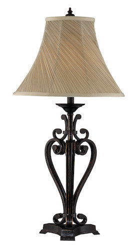 97628 - Angers Metal 2 pk Table Lamp - Free Shipping! Floor, Desk And Table Lamps - RauFurniture.com