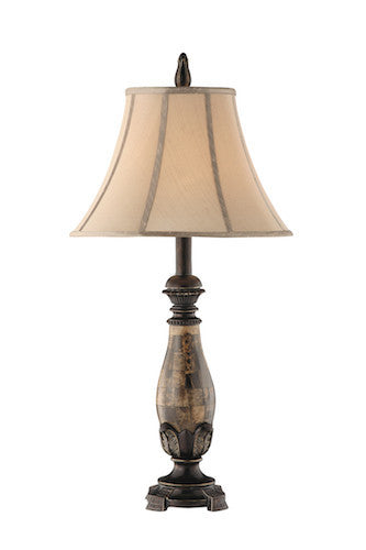 97833 - Roma Resin 2 pk Table Lamp - Free Shipping! Floor, Desk And Table Lamps - RauFurniture.com