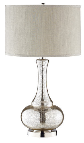 98876 - Lincore Glass Table Lamp - Free Shipping! Floor, Desk And Table Lamps - RauFurniture.com