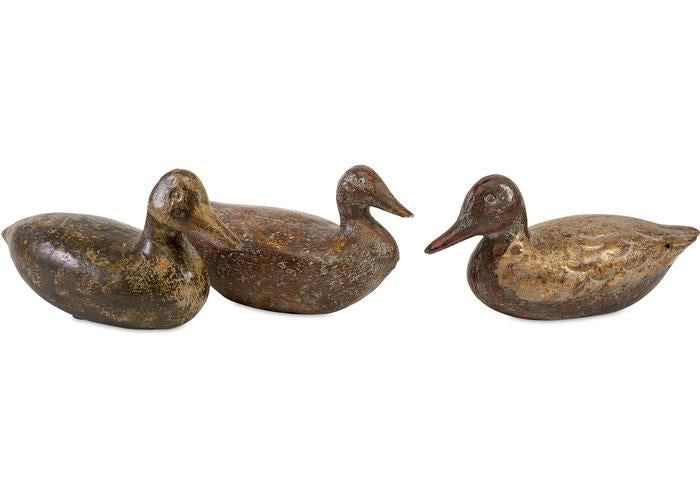 Rustic Duck Decoys Ast 3 Raufurniture Com