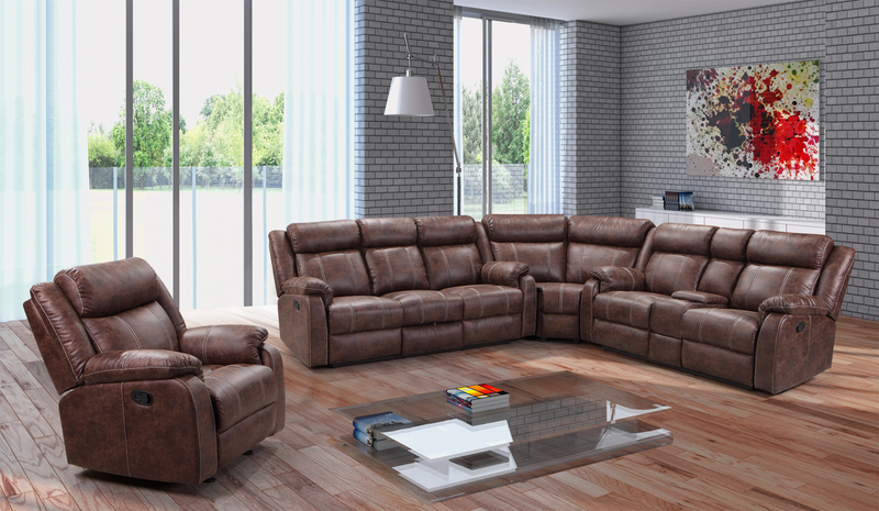 L7303-3PC Buckskin 3 Piece Sectional