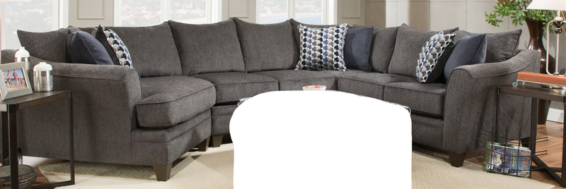 6485 Albany Slate 3 Piece Sectional