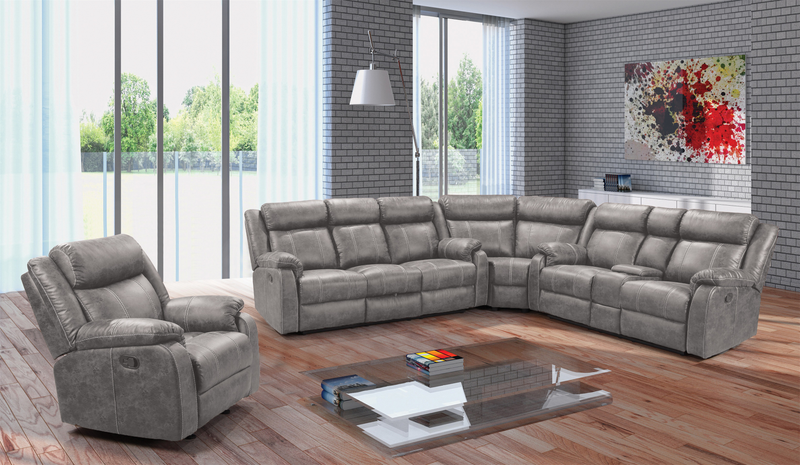 L9305 Jarama Gray 3 Piece Sectional