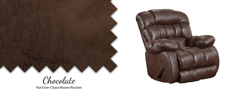 9200 Nevada Pad-Over-Chaise Rocker/Recliner