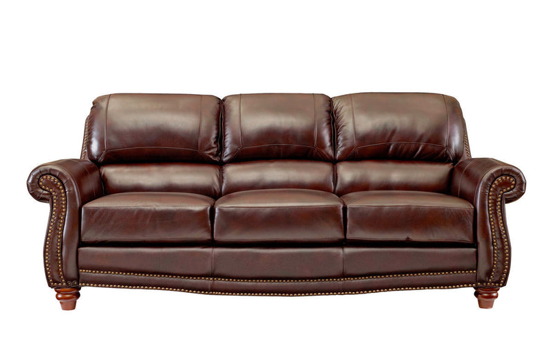 S9922 James 2952 Tobacco & P9922 James Top Grain Leather Furniture - RauFurniture.com