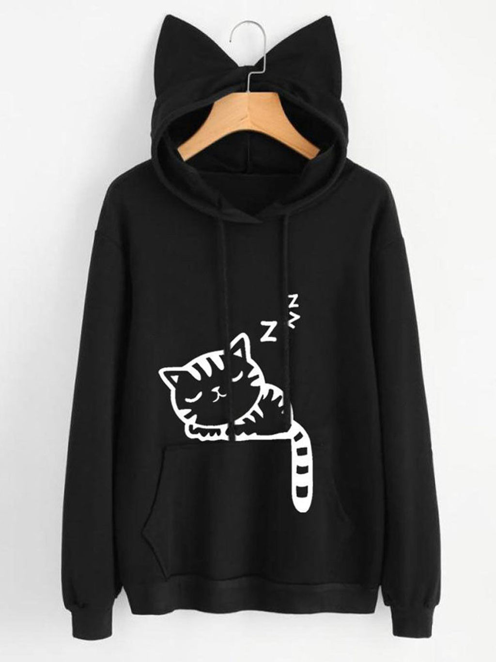 Cotton Casual Animal Hoodie Sweatshirt&hoodies