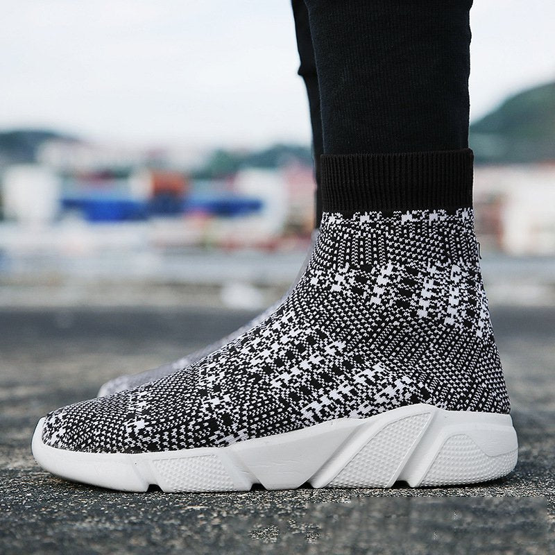 All Season Casual Flyknit Fabric Sneakers