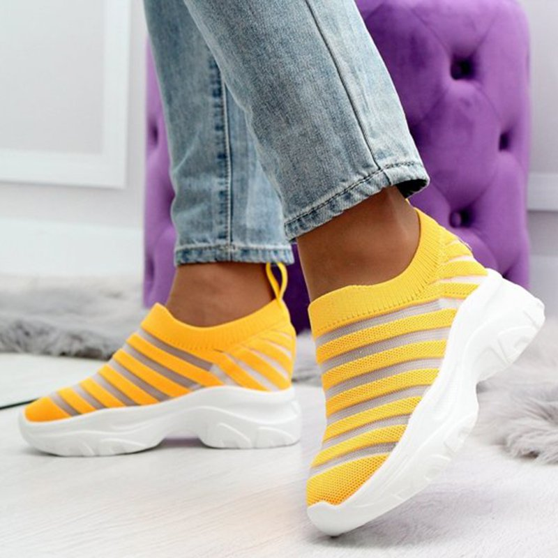 Mesh Fabric Spring/fall Sneakers