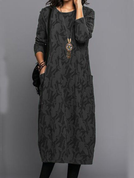 Long Sleeve Vintage Fall Dresses