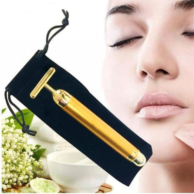 24K Gold Facial Beauty Roller