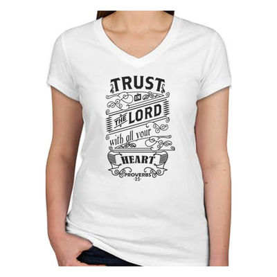 Bible Phrase Shirt - Proverbs 3:5