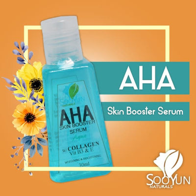 Whitening and Brightening AHA Skin Booster Serum by Soo Yun
