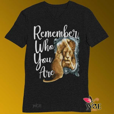 Remember Who You Are - Cat Shirt Black / Male / Medium
