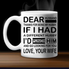 Dear Husband/wife Couple Mug - Punch It! Dear Husband