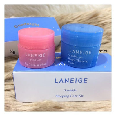 Good Night Sleeping Care Kit By Laneige 2 Items kit care sleep night laneige Sleeping