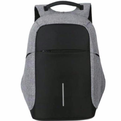Anti-Theft Backpack - 3 Way Zipper Design bag travel USB charging compartment  pacsafe laptop