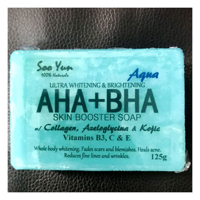 Aha+Bha Skin Booster Soap By Soo Yun Classic brightening beauty bar lightening