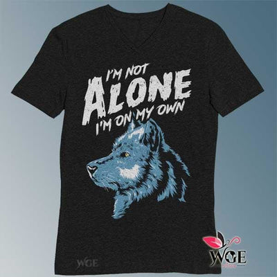 Im Not Alone Wolf Shirt