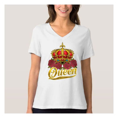 King and Queen Couple Shirt II (Crown) cloth clothing cotton statement shirt tee print design WGEAsia Men Women