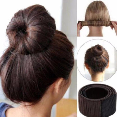 Magic Hair Bun Maker hairstyle bun hair Magic