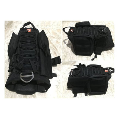 Dogpull M60 Tactical Vest Large / Black Vest Molle