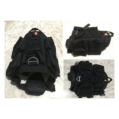 Dogpull M60 Tactical Vest Small / Black Vest Molle
