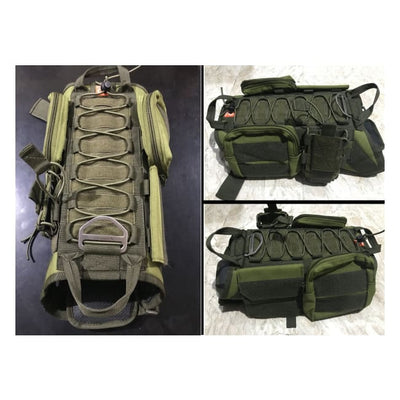 Dogpull M60 Tactical Vest Large / Fatigue Vest Molle
