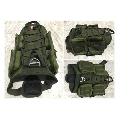 Dogpull M60 Tactical Vest Small / Fatigue Vest Molle