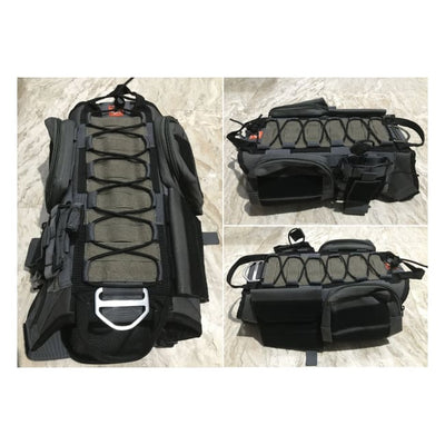 Dogpull M60 Tactical Vest Large / Gray Vest Molle