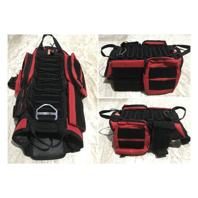 Dogpull M60 Tactical Vest Large / Red Vest Molle