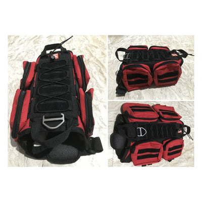 Dogpull M60 Tactical Vest Small / Red Vest Molle