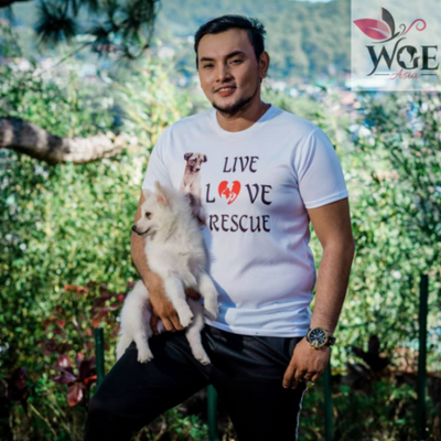 Live Love Rescue Animal Welfare Shirt - Unisex