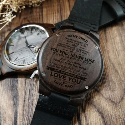 To My Child Love Dad - I Love You Watch by WGEAsia