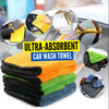 Ultra-Absorbent Car Wash Towel Buy One Take One