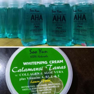Calamansi Whitening Cream By Soo Yun Calamansi Cream 50G Plus Blue Aqua Serum WGEAsia Calamansi Whitening Cream By Soo Yun Calamansi Whitening Cream 50G Only anti wrinkles acne scar remover pekas scar pimple tawas