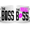 The Boss And The Real Boss Couple Mug