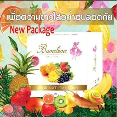 WGEAsia Bumebime™ Mask Whitening Soap 100g - Authentic instant skin herbal organic fast natural trending