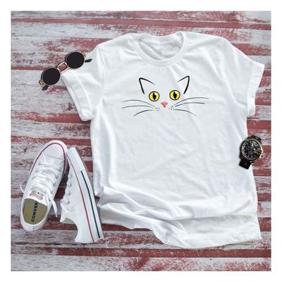 Pleading Cat Shirt - UNISEX cloth clothing cotton statement shirt tee print design WGEAsia Men Women