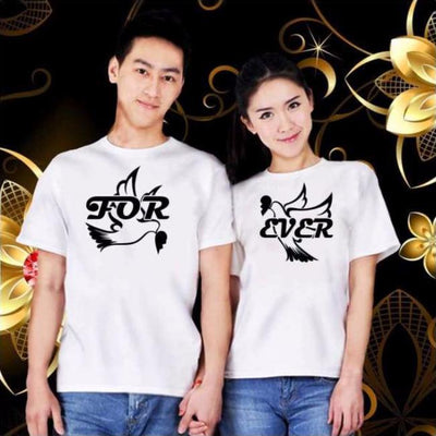 Forever couple shirt T-shirt real couples shirts