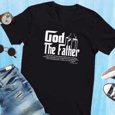 Bible Phrase Shirt - 2 Peter 1:17 cloth clothing verse christian