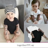 Tattoo Baby Romper