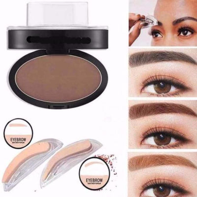 Quick Eyebrow Stamp INSTANT PERFECT BROW makeup rapid april skin curved straight