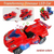 DinoCar Transforming Dinosaur LED Car