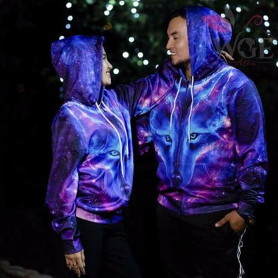 Gala The Wolf Of Desires - Hoodie (Unisex)