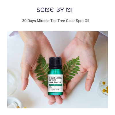 30 Days Miracle Tea Tree Clear Spot Oil 10ml by Some By Mi