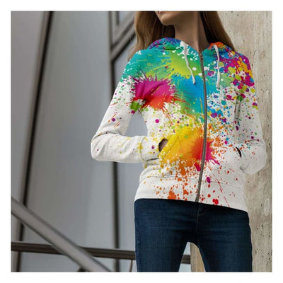 Divine Intervention Splatter - Hoodie (Unisex)