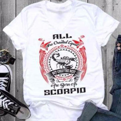 Zodiac Shirt - Scorpio cloth clothing cotton statement shirt tee print design WGEAsia Men Women