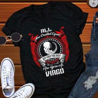 Zodiac Shirt - Virgo cloth clothing cotton statement shirt tee print design WGEAsia Men Women
